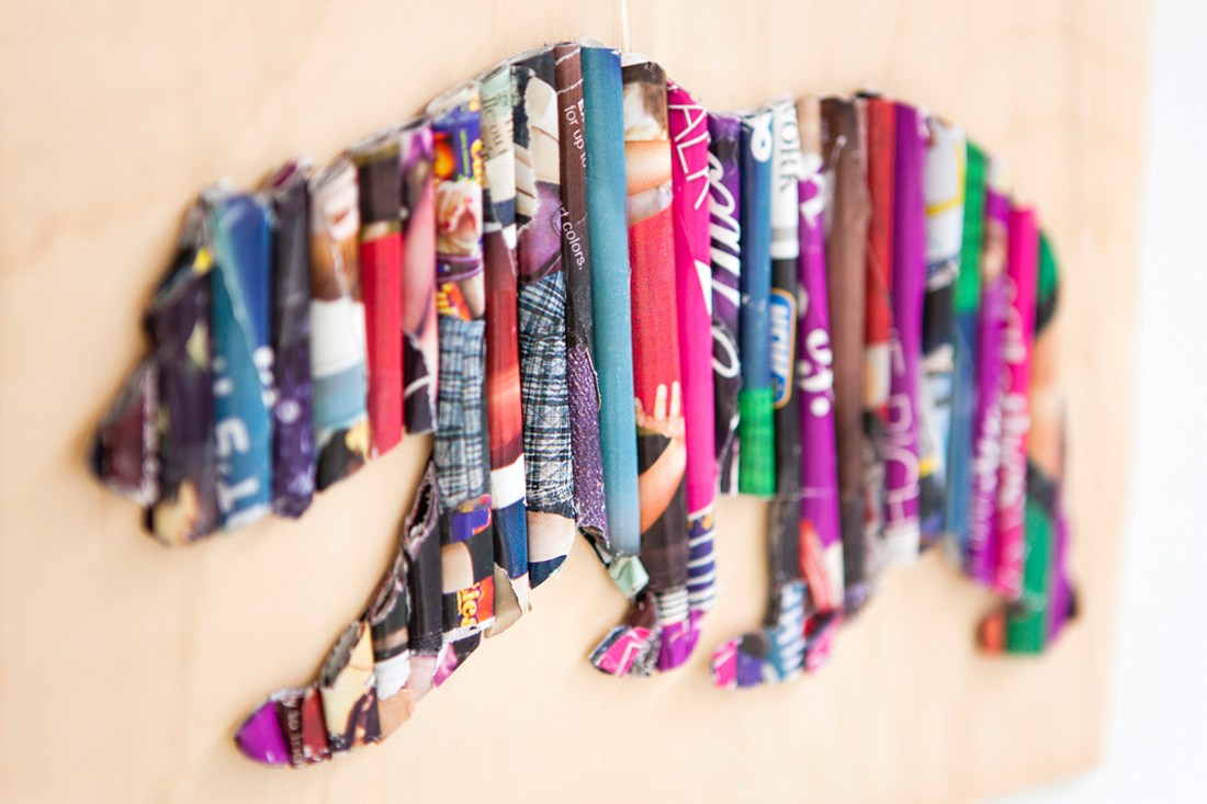 DIY & Crafts: Amazing Crafts Made from Old Magazines ...